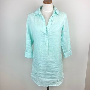 Vineyard Vines Linen Lucaya Tunic